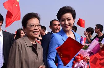 北京申冬奥代表团凯旋