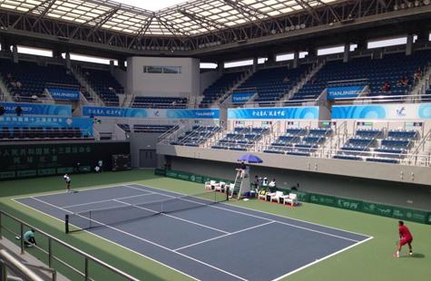 全运网球单项第二轮:四项比赛均有种子淘汰
